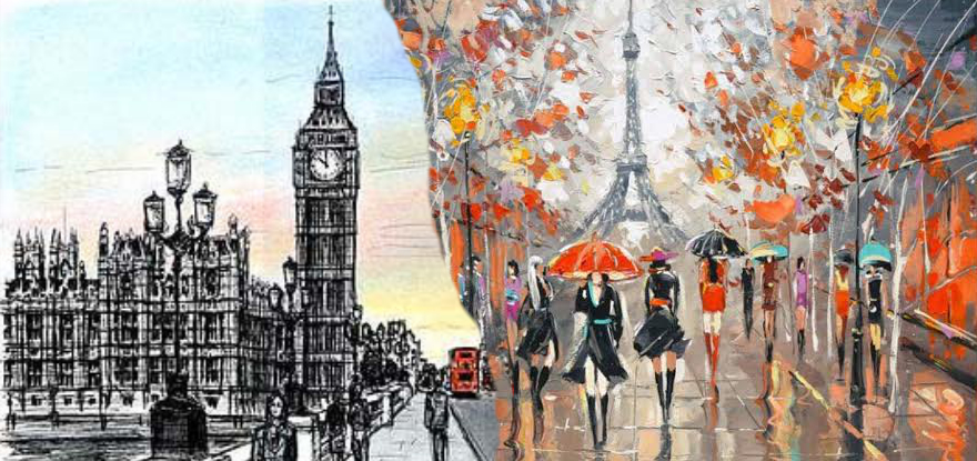 London And Paris