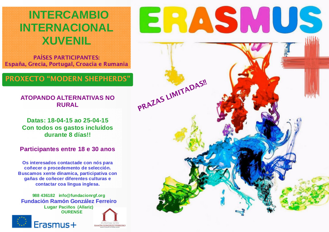 Modern Shepherds Erasmus Cartaz