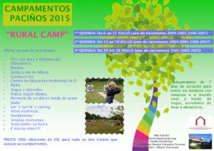 Cartaz Campamento 2015