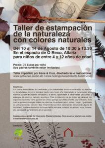 Cartel Estampacion Naturaleza