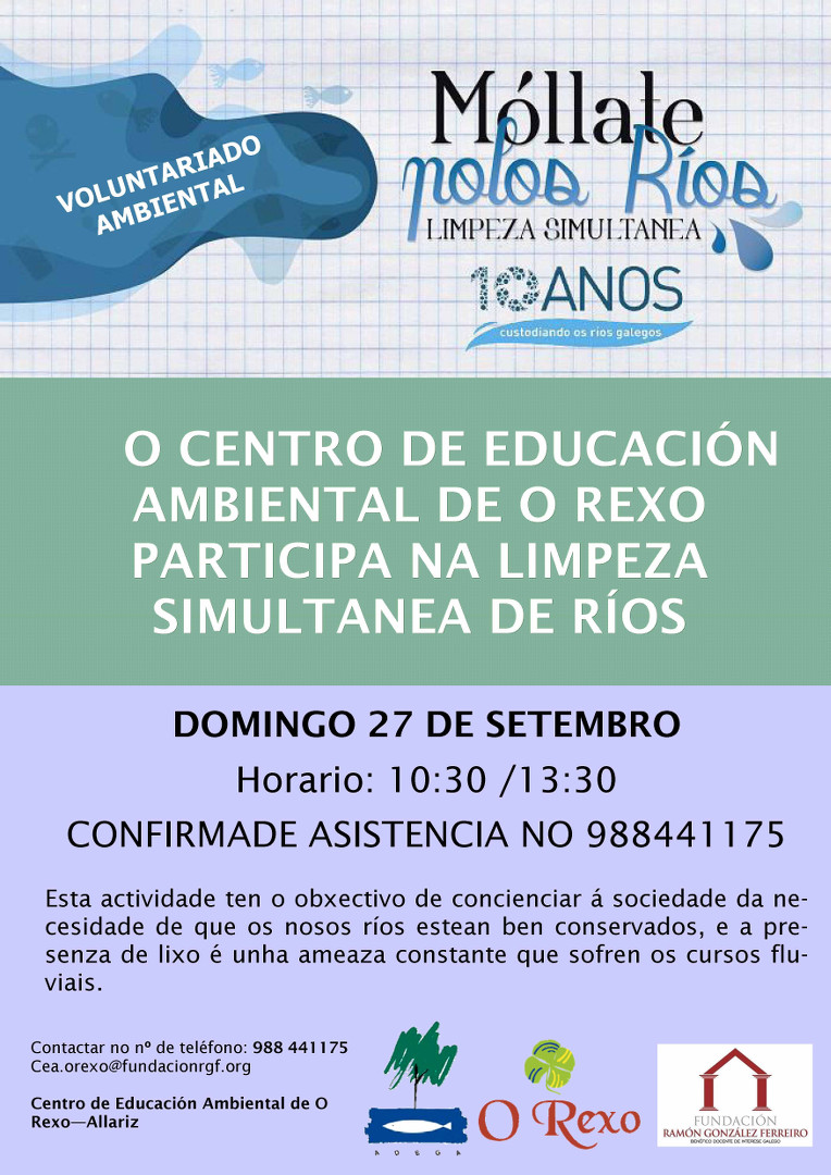 Voluntariado Rios Cartaz