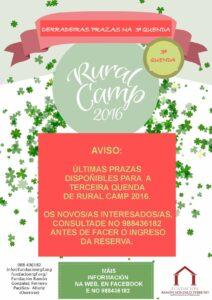 RuralCamp 2016 Terceira Quenda