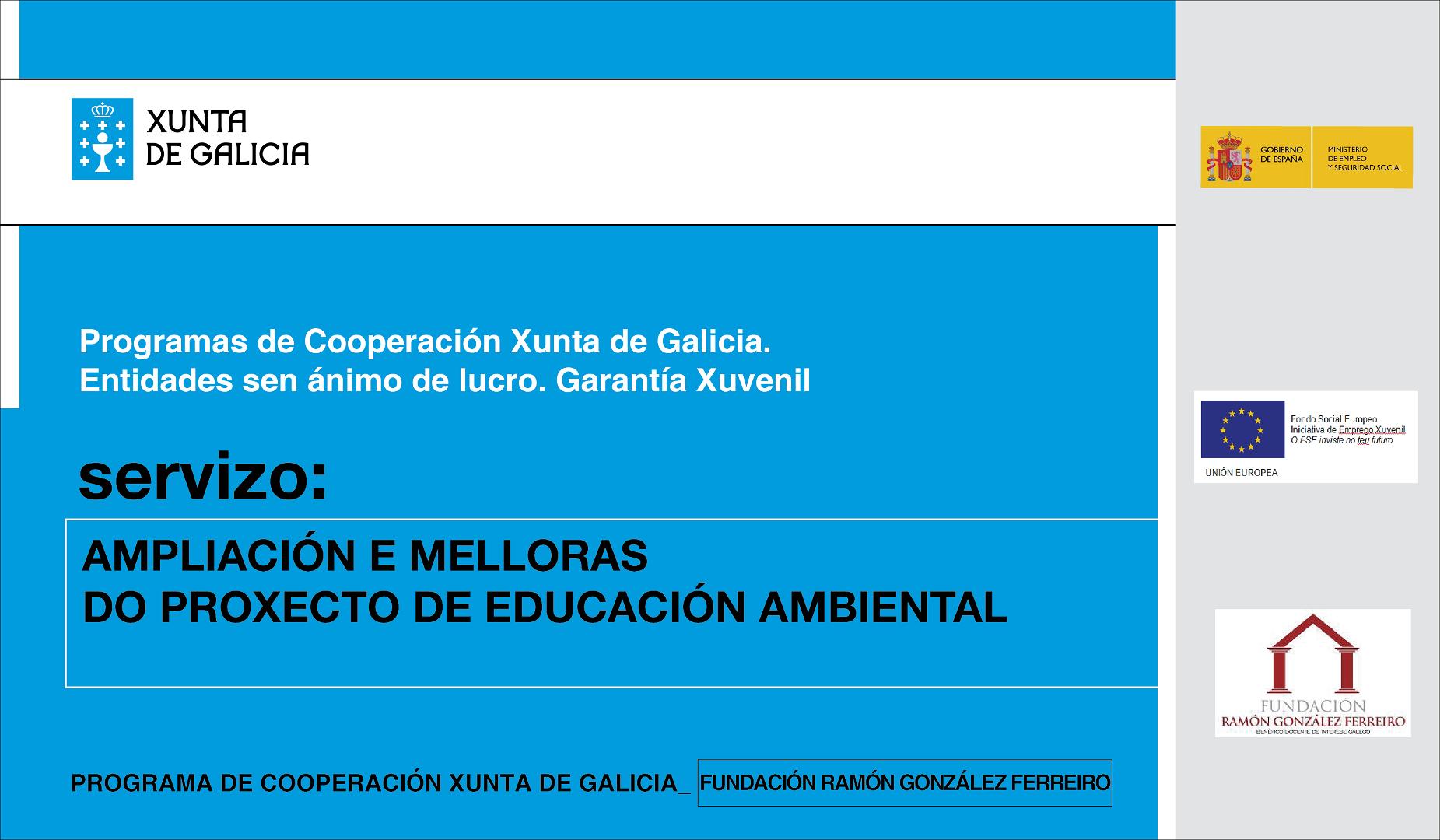 Mellora Aulas Programa Xunta de Galicia