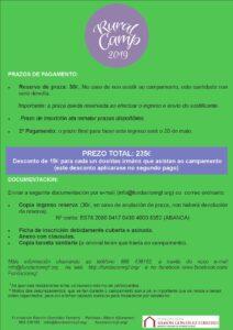 RuralCamp 2019 Pagamento