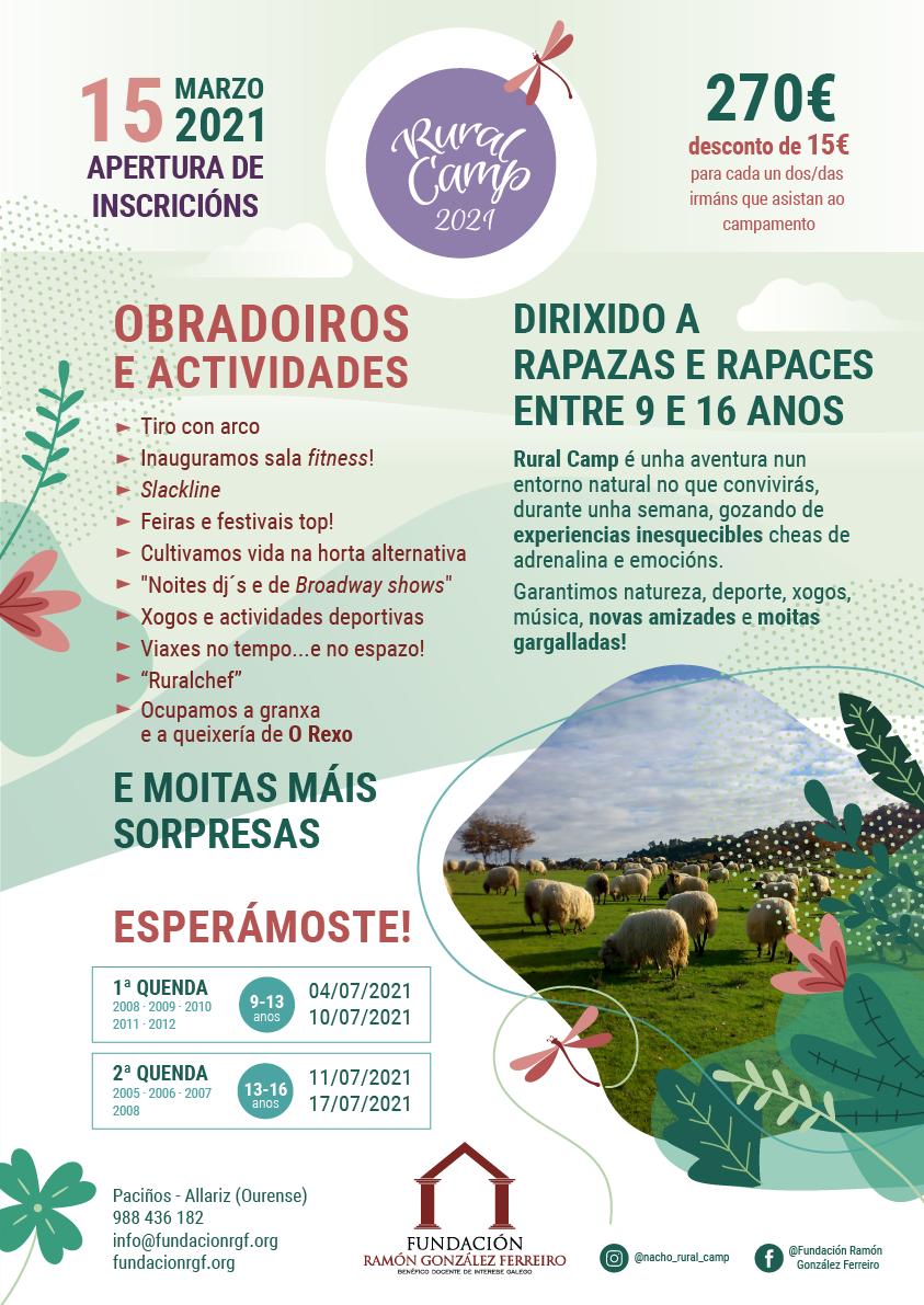 RuralCamp 2021 Campamento